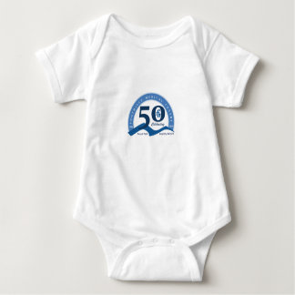 Foothills Turns Fifty Logo Baby Shirt - Color