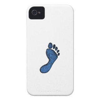Footprint Drawing iPhone 4 Cases