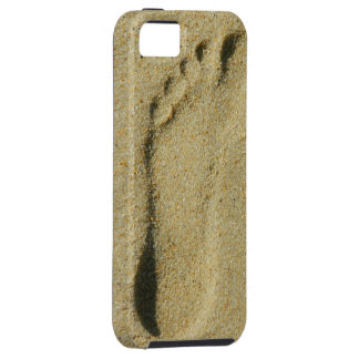 Footprint in the Sand iPhone 5 Cases