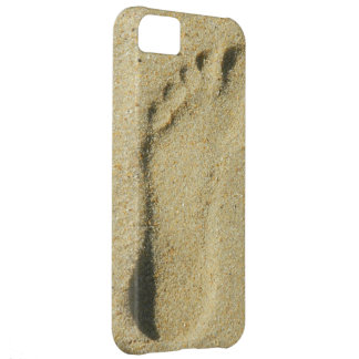Footprint in the Sand iPhone 5C Cases