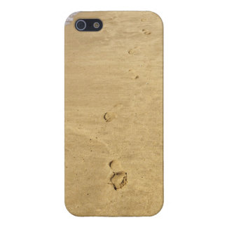 Footprint in the sand iPhone 5/5S case