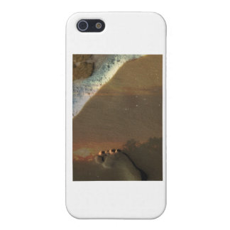 Footprint in the sand cover for iPhone 5