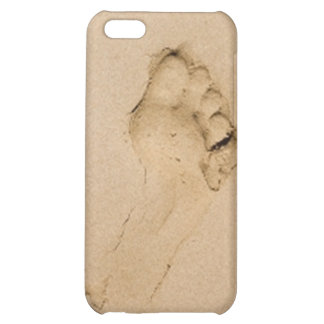 Footprint on the Beach iPhone 5C Cases