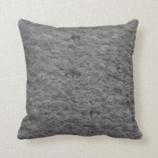 Footprint pillow