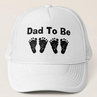 Footprints - Customize Trucker Hat