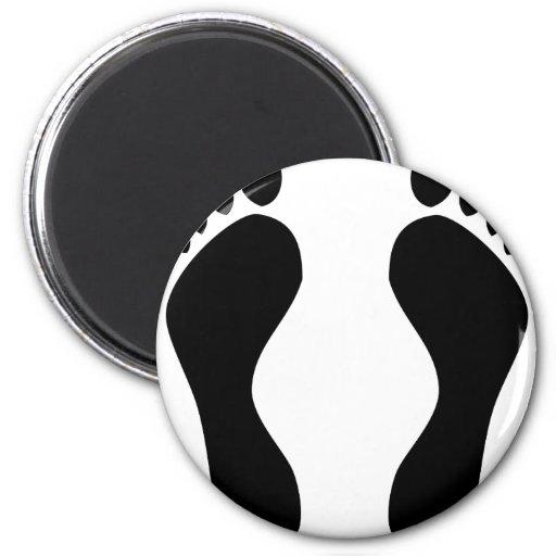 footprints feet magnets