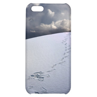 Footprints in desert sands cover for iPhone 5C