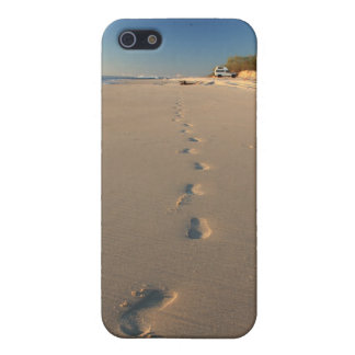 Footprints in the Sand - Bribie Island Case For iPhone 5/5S