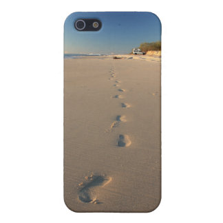 Footprints in the Sand - Bribie Island Case For The iPhone 5