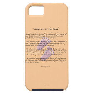 Footprints in the Sand iPhone 5/5S Case