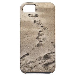 Footprints in the Sand iPhone 5 Case