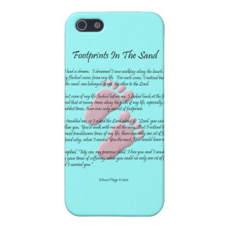 Footprints In The Sand Case For The iPhone 5