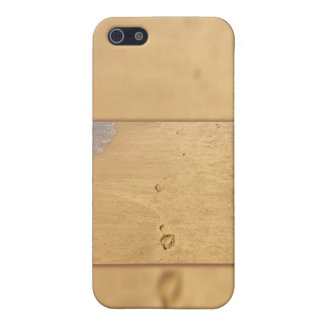 Footprints in the sand collage case for iPhone 5/5S