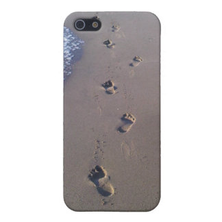 Footprints in the Sand iPhone 5 Covers
