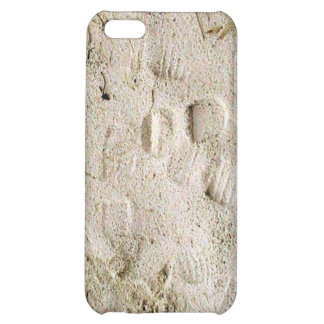 Footprints in the sand iPhone 5C covers