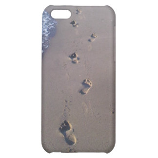 Footprints in the Sand Case For iPhone 5C