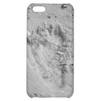 Footprints in the sand iPhone 5C cover