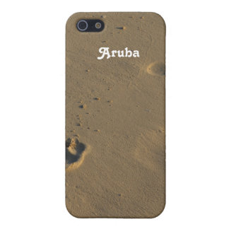 Footprints in the Sand iPhone 5/5S Cover