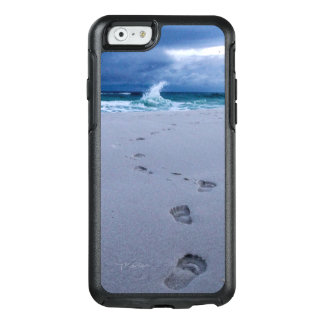 Footprints in the Sand iPhone Cases