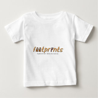 Footprints Logo Clothing Baby T-Shirt