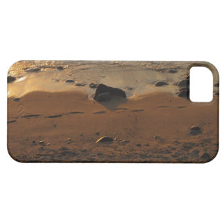 Footprints on the Beach iPhone 5 Cases