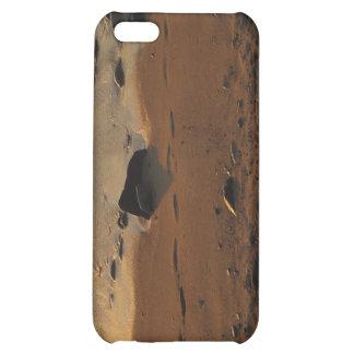 Footprints on the Beach iPhone 5C Case