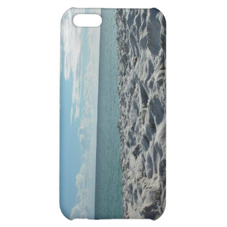 Footprints on the seashore iPhone 5C cover