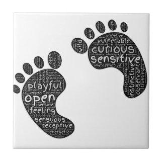 Footsteps Ceramic Tile