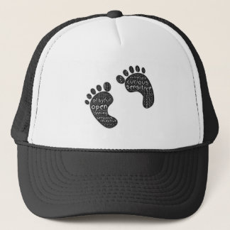 Footsteps Trucker Hat