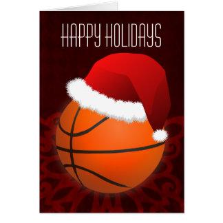 for a basketball player Christmas Cards