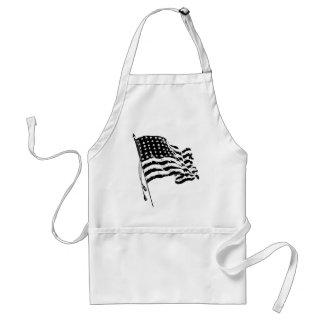 For a patriot from the USA: American Flag Standard Apron