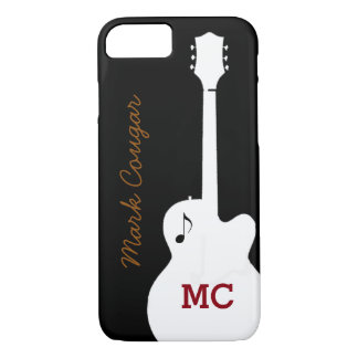 for a rock music guitarist iPhone 7 case