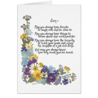 For a Son... Card