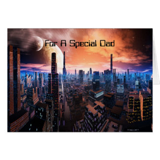 For A Special Dad Greeting Card
