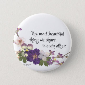 For a Sweetheart 6 Cm Round Badge