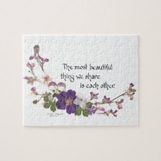 For a Sweetheart Jigsaw Puzzle