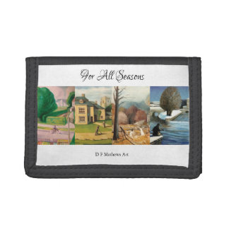 """For All Seasons"" Wallet"