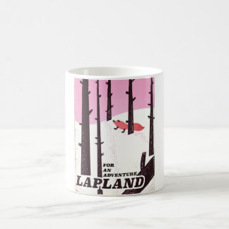 For an adventure Lapland vintage poster Coffee Mug