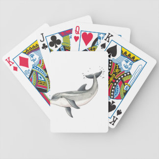 For Baby dolphin children Bicycle Playing Cards