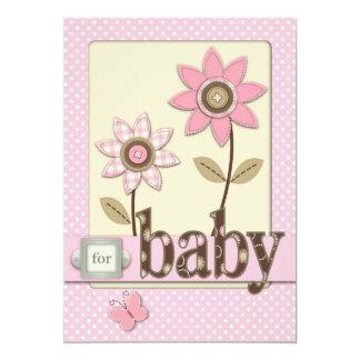 For Baby Girl Invitation