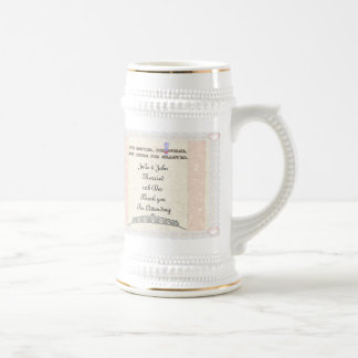 For Better or Worse Beer Steins