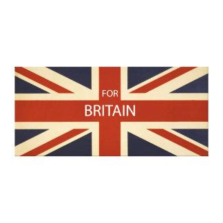 For Britain Canvas Print