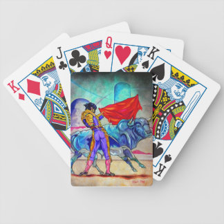 For Bull fighting his life! Bicycle Playing Cards