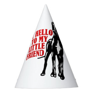 For cool kids with little dogs but great friends party hat