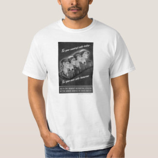For Country, Vintage WWII WACS/WAVES/SPARS/WASPS T Tees