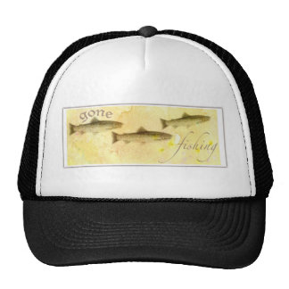 FOR DAD GONE FISHING HAT