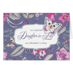 Happy mother day daughter in law cards invitations zazzle for daughter in law on mothers day greeting cards m4hsunfo