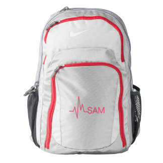 For Doctors and Nurses. Medical Heart Beat. Backpack