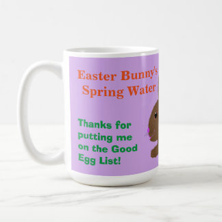 For Easter Bunny Water Mug Personalise Name