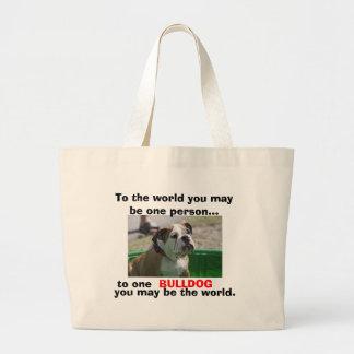 For English Bulldog Lovers Bags